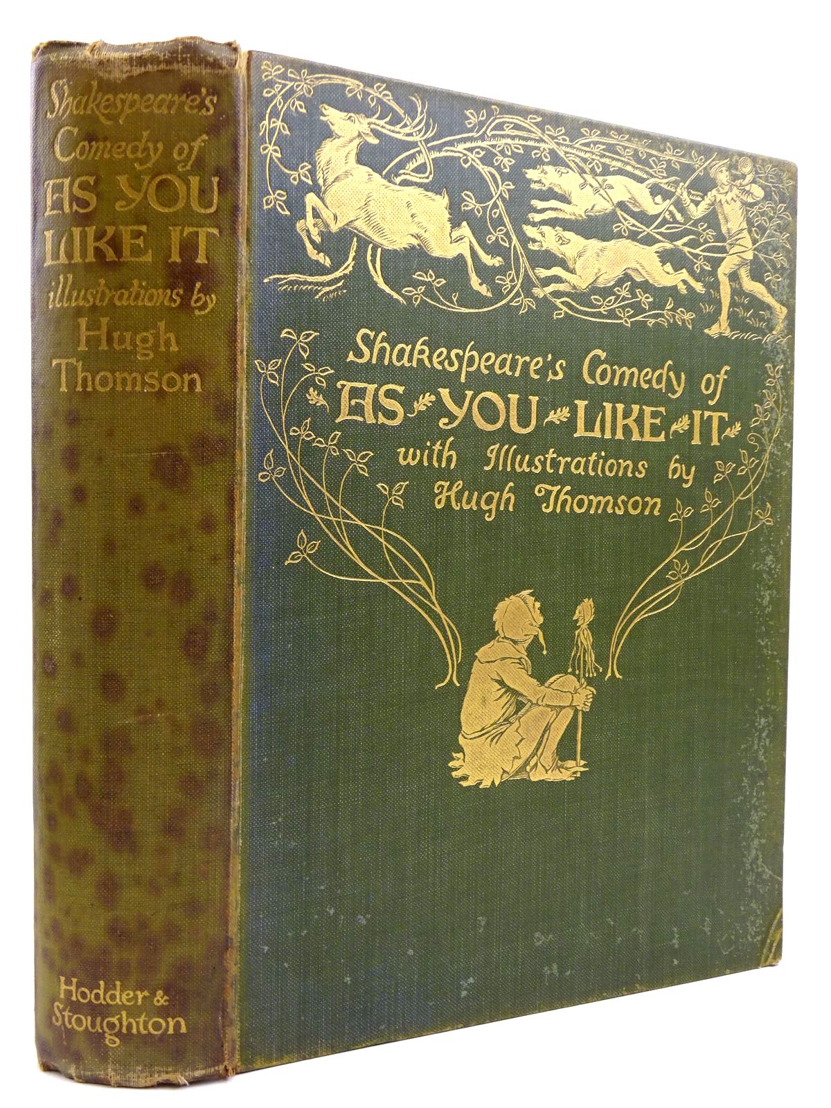 Photo of SHAKESPEARE'S COMEDY - AS YOU LIKE IT written by Shakespeare, William illustrated by Thomson, Hugh published by Hodder & Stoughton (STOCK CODE: 2131286)  for sale by Stella & Rose's Books
