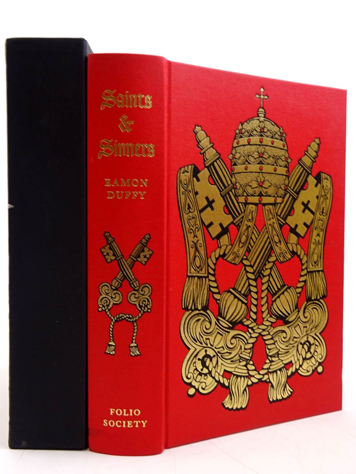 Photo of SAINTS & SINNERS A HISTORY OF THE POPES written by Duffy, Eamon published by Folio Society (STOCK CODE: 2131291)  for sale by Stella & Rose's Books
