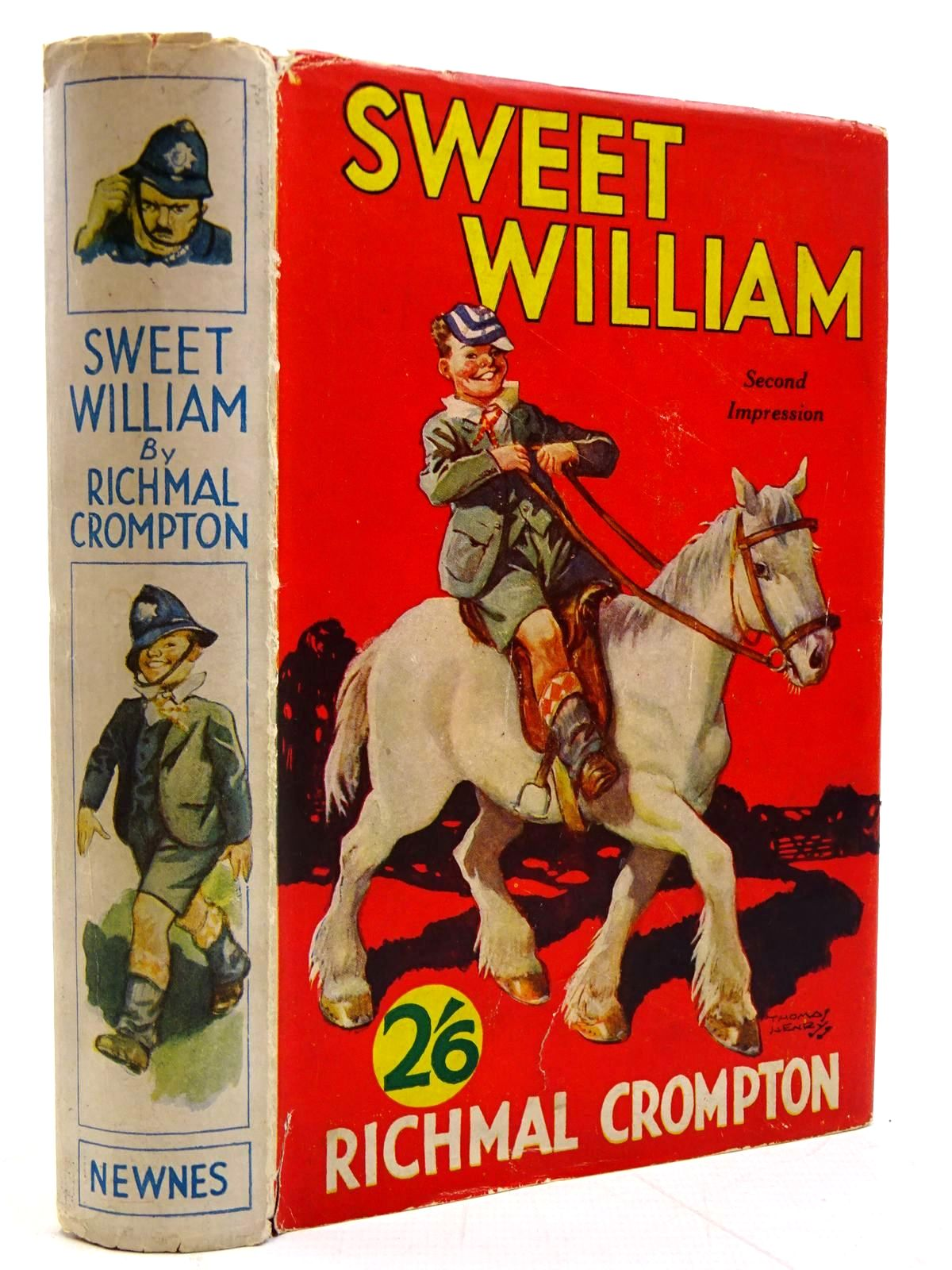 Photo of SWEET WILLIAM written by Crompton, Richmal illustrated by Henry, Thomas published by George Newnes Ltd. (STOCK CODE: 2131344)  for sale by Stella & Rose's Books