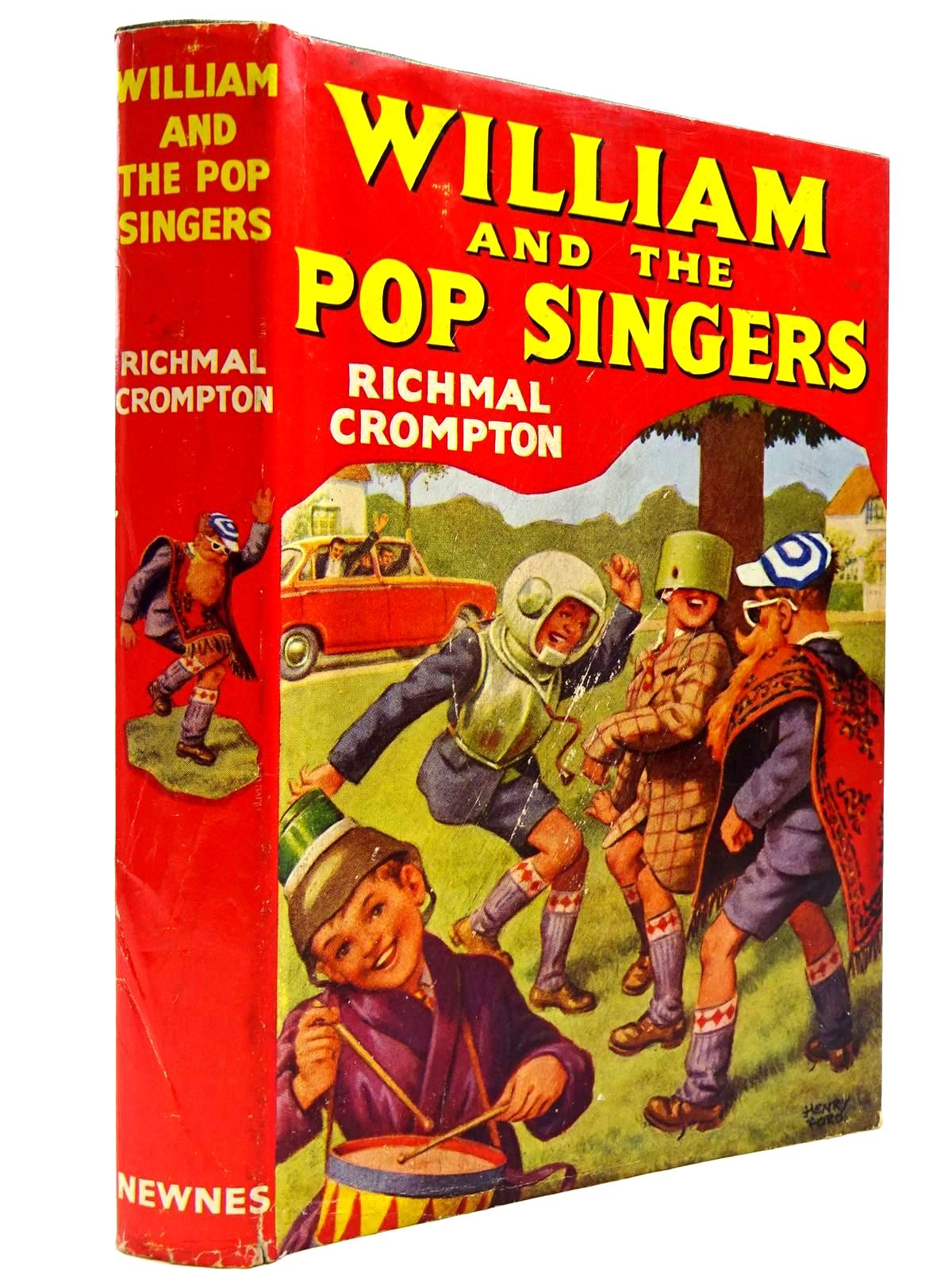Photo of WILLIAM AND THE POP SINGERS written by Crompton, Richmal illustrated by Ford, Henry published by George Newnes Ltd. (STOCK CODE: 2131401)  for sale by Stella & Rose's Books