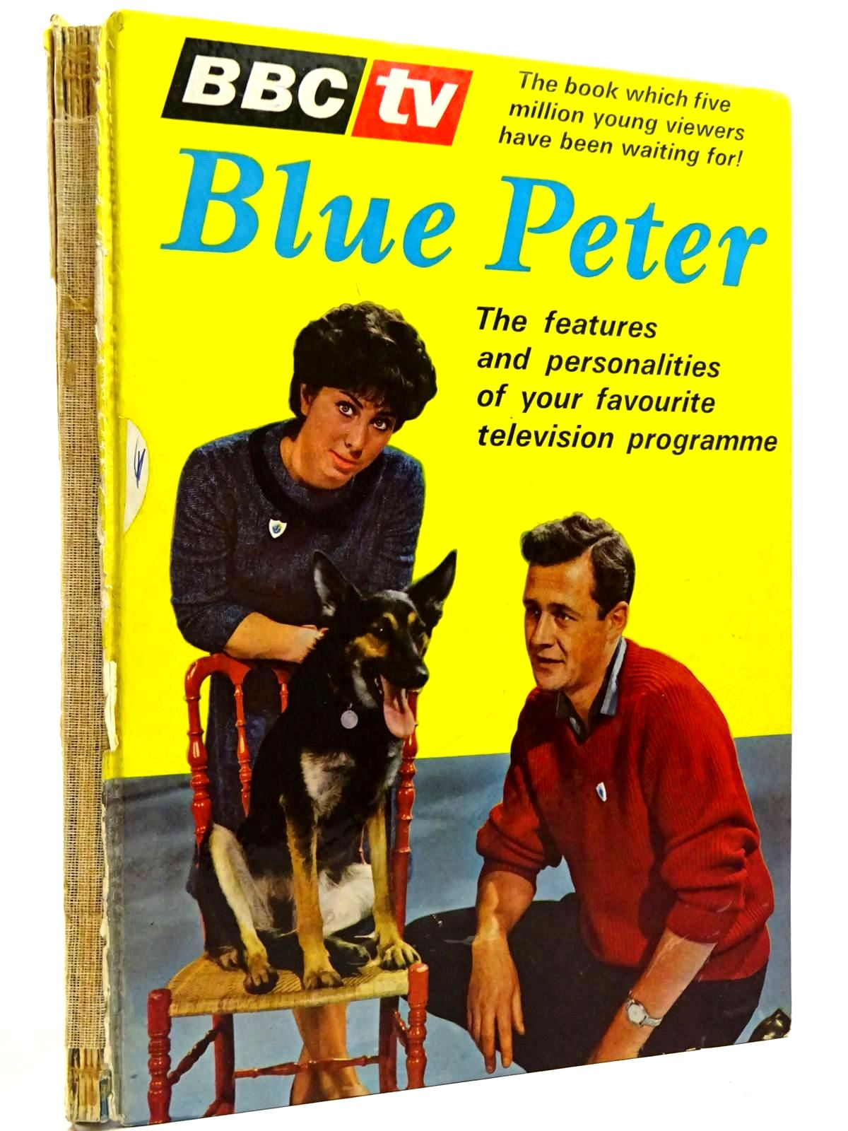 Photo of BLUE PETER ANNUAL No. 1 published by BBC (STOCK CODE: 2131402)  for sale by Stella & Rose's Books