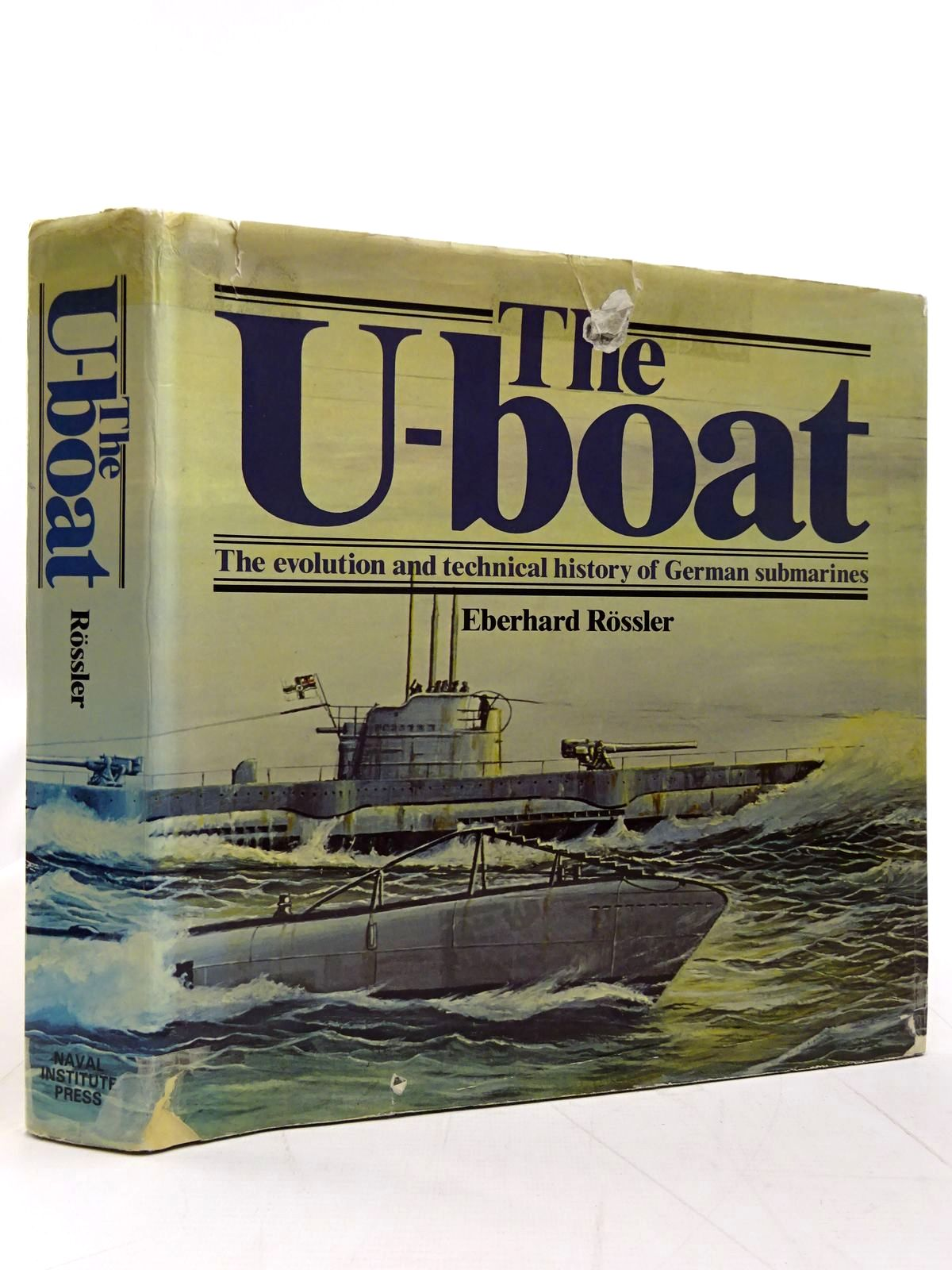 Photo of THE U-BOAT written by Rossler, Eberhard published by Naval Institute Press (STOCK CODE: 2131462)  for sale by Stella & Rose's Books