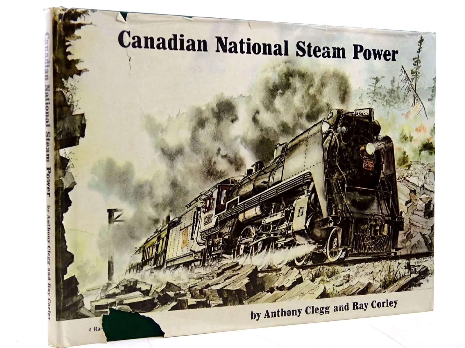 Photo of CANADIAN NATIONAL STEAM POWER written by Clegg, Anthony<br />Corley, Ray published by Train Collectors Association (STOCK CODE: 2131476)  for sale by Stella & Rose's Books