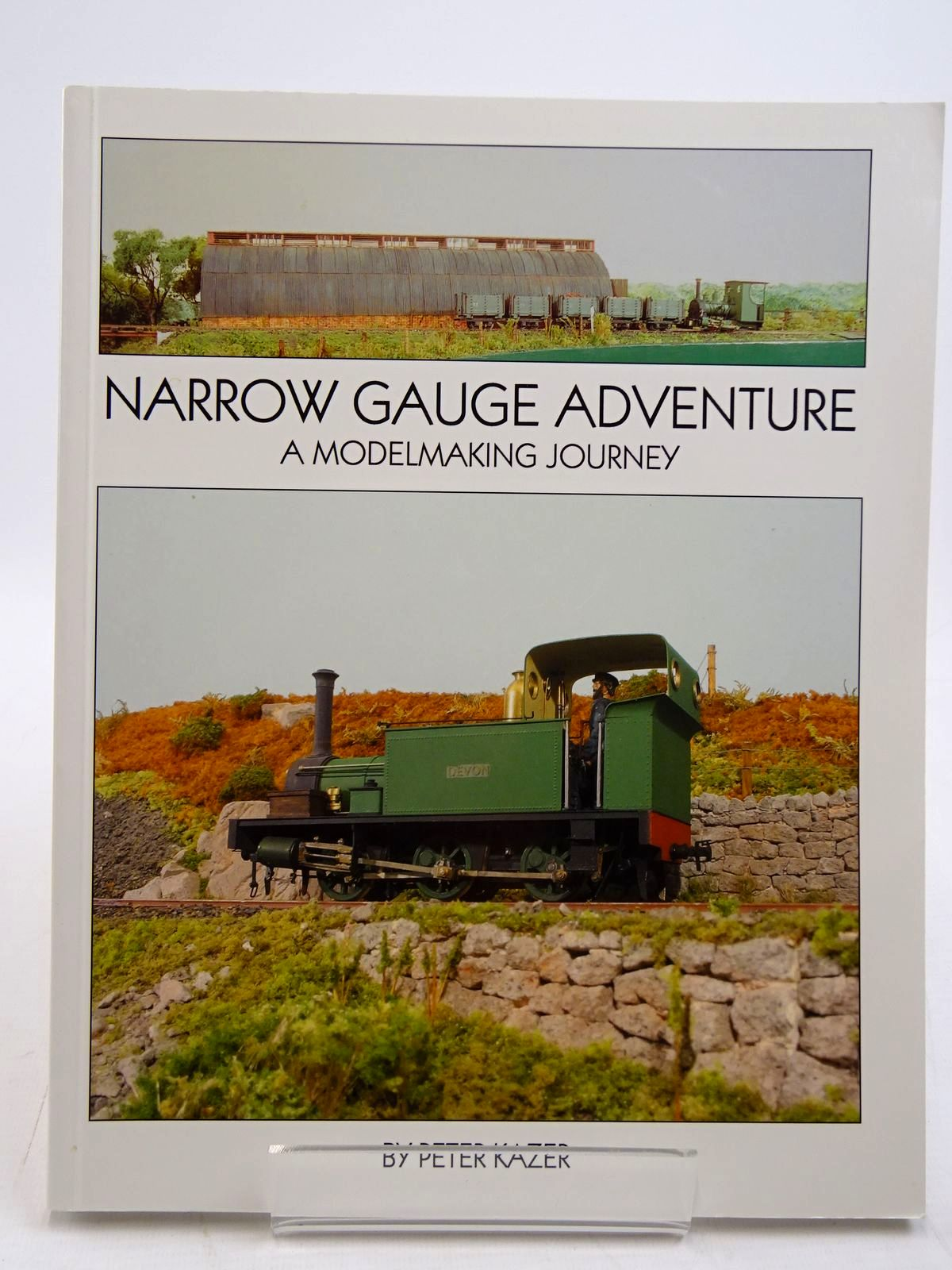 Photo of NARROW GAUGE ADVENTURE A MODELMAKING JOURNEY written by Kazer, Peter published by Wild Swan Publications (STOCK CODE: 2131488)  for sale by Stella & Rose's Books
