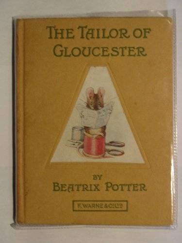 Photo of THE TAILOR OF GLOUCESTER written by Potter, Beatrix illustrated by Potter, Beatrix published by Frederick Warne & Co Ltd. (STOCK CODE: 219821)  for sale by Stella & Rose's Books
