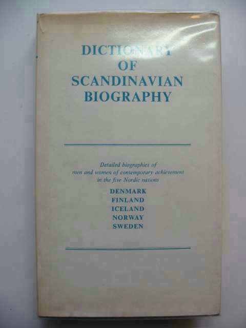 Photo of DICTIONARY OF SCANDINAVIAN BIOGRAPHY written by Kay, Ernest published by Melrose Press Ltd. (STOCK CODE: 233000)  for sale by Stella & Rose's Books