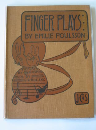 Photo of FINGER PLAYS written by Poulsson, Emilie illustrated by Bridgman, L.J. published by J. Curwen & Sons Ltd. (STOCK CODE: 314180)  for sale by Stella & Rose's Books