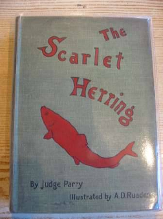 Photo of THE SCARLET HERRING written by Parry, Edward Abbott illustrated by Rusden, A. D. published by Smith, Elder & Co. (STOCK CODE: 317374)  for sale by Stella & Rose's Books