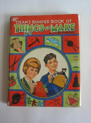Photo of DEAN'S BUMPER BOOK OF THINGS TO MAKE No. 3 written by Williams, Violet M. published by Dean & Son Ltd. (STOCK CODE: 375426)  for sale by Stella & Rose's Books