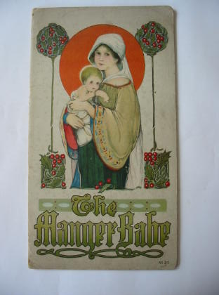 Photo of THE MANGER BABE written by Byrum, Isabel C. illustrated by Price, Margaret Evans published by Stecher Litho. Co. (STOCK CODE: 379982)  for sale by Stella & Rose's Books