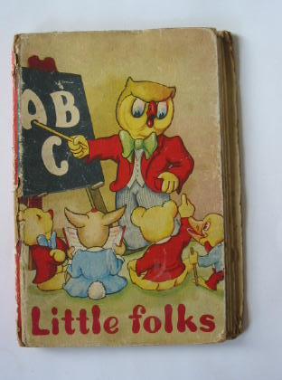 Photo of LITTLE FOLKS ABC published by Margo (STOCK CODE: 380016)  for sale by Stella & Rose's Books