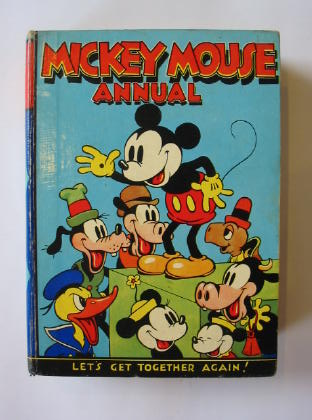 Photo of MICKEY MOUSE ANNUAL 1937 FOR 1938- Stock Number: 381774