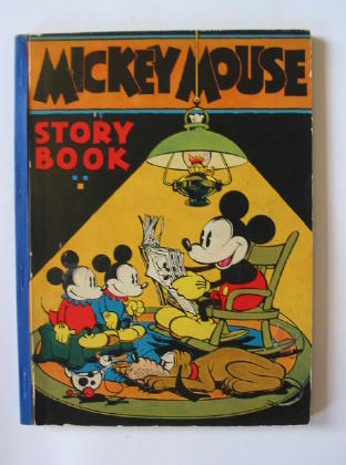 Photo of MICKEY MOUSE STORY BOOK written by Disney, Walt illustrated by Disney, Walt published by David McKay Company (STOCK CODE: 381780)  for sale by Stella & Rose's Books