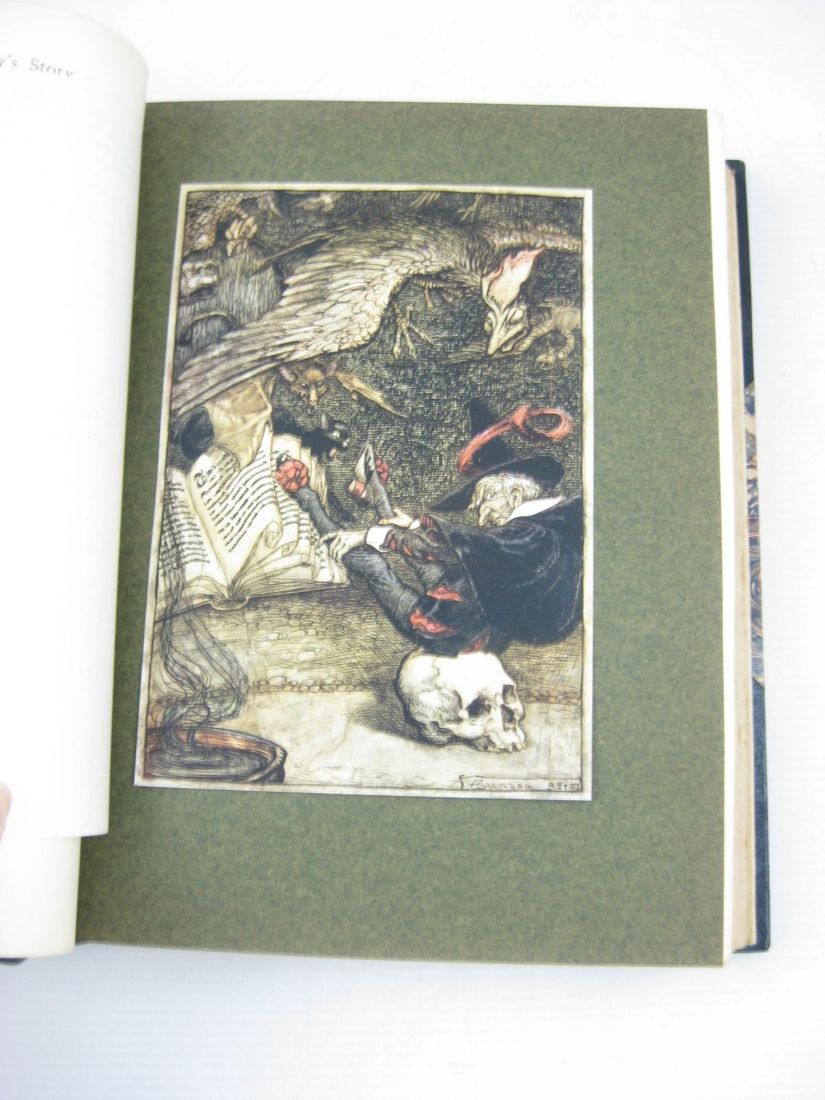 Photo of THE INGOLDSBY LEGENDS or MIRTH & MARVELS written by Barham, R. illustrated by Rackham, Arthur published by J.M. Dent & Co. (STOCK CODE: 382097)  for sale by Stella & Rose's Books
