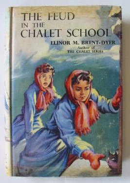 Photo of THE FEUD IN THE CHALET SCHOOL written by Brent-Dyer, Elinor M. illustrated by Brook, D. published by W. & R. Chambers Limited (STOCK CODE: 382324)  for sale by Stella & Rose's Books