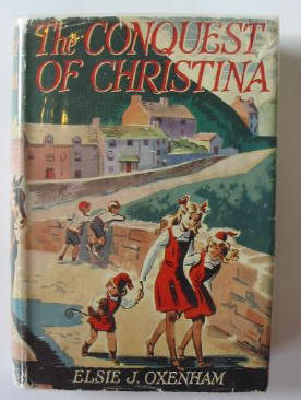 Photo of THE CONQUEST OF CHRISTINA written by Oxenham, Elsie J. illustrated by Lodge, Grace published by Collins (STOCK CODE: 383103)  for sale by Stella & Rose's Books