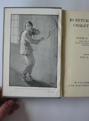 Photo of JO RETURNS TO THE CHALET SCHOOL written by Brent-Dyer, Elinor M. illustrated by Brisley, Nina K. published by W. & R. Chambers Limited (STOCK CODE: 384816)  for sale by Stella & Rose's Books