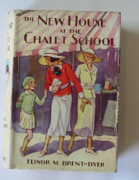 Photo of THE NEW HOUSE AT THE CHALET SCHOOL written by Brent-Dyer, Elinor M. illustrated by Brisley, Nina K. published by W. & R. Chambers Limited (STOCK CODE: 384874)  for sale by Stella & Rose's Books