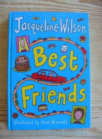 Photo of BEST FRIENDS written by Wilson, Jacqueline illustrated by Sharratt, Nick published by Doubleday (STOCK CODE: 403058)  for sale by Stella & Rose's Books