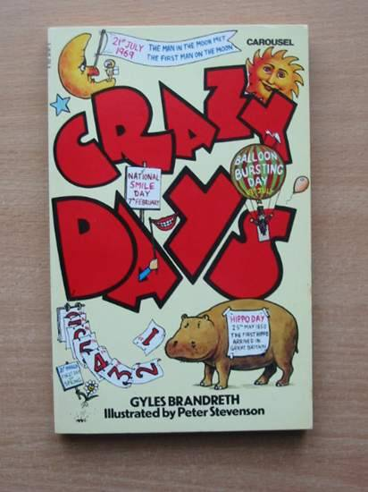 Photo of CRAZY DAYS written by Brandreth, Gyles published by Carousel (STOCK CODE: 425375)  for sale by Stella & Rose's Books