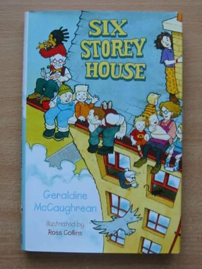 Photo of SIX STOREY HOUSE written by McCaughrean, Geraldine illustrated by Collins, Ross published by Hodder Children's Books (STOCK CODE: 425457)  for sale by Stella & Rose's Books