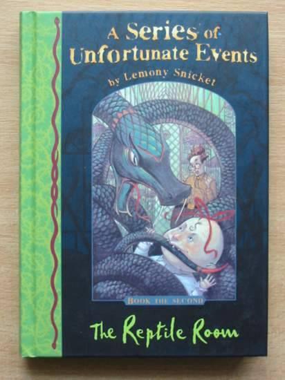 Photo of A SERIES OF UNFORTUNATE EVENTS: THE REPTILE ROOM written by Snicket, Lemony illustrated by Helquist, Brett published by Egmont Books Ltd. (STOCK CODE: 426467)  for sale by Stella & Rose's Books
