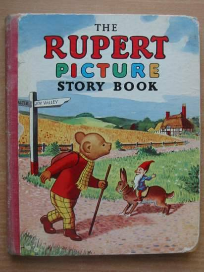 Photo of THE RUPERT PICTURE STORY BOOK written by Bestall, Alfred illustrated by Bestall, Alfred published by L.T.A. Robinson Ltd. (STOCK CODE: 430996)  for sale by Stella & Rose's Books