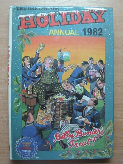 Photo of THE GREYFRIARS HOLIDAY ANNUAL 1982 written by Richards, Frank published by Howard Baker Press (STOCK CODE: 432016)  for sale by Stella & Rose's Books