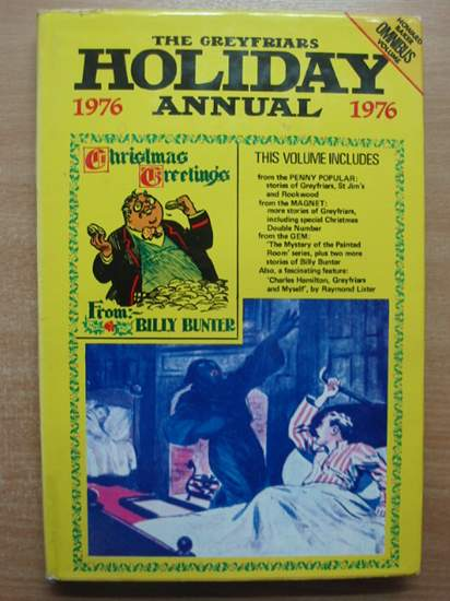 Photo of THE GREYFRIARS HOLIDAY ANNUAL 1976 written by Richards, Frank<br />Todd, Peter<br />Clifford, Martin<br />et al, published by Howard Baker Press (STOCK CODE: 432022)  for sale by Stella & Rose's Books