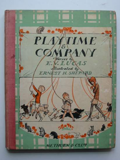 Photo of PLAYTIME & COMPANY written by Lucas, E.V. illustrated by Shepard, E.H. published by Methuen & Co. Ltd. (STOCK CODE: 434015)  for sale by Stella & Rose's Books
