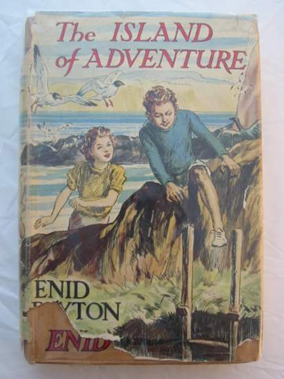 Photo of THE ISLAND OF ADVENTURE written by Blyton, Enid illustrated by Tresilian, Stuart published by Macmillan & Co. Ltd. (STOCK CODE: 434386)  for sale by Stella & Rose's Books