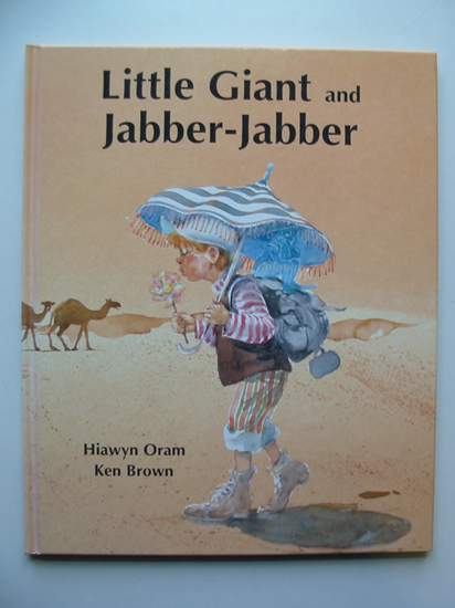 Photo of LITTLE GIANT AND JABBER-JABBER written by Oram, Hiawyn illustrated by Brown, Ken published by Andersen Press Ltd. (STOCK CODE: 436589)  for sale by Stella & Rose's Books
