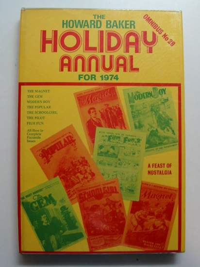 Photo of THE HOWARD BAKER HOLIDAY ANNUAL FOR 1974 written by Richards, Frank<br />Richards, Hilda<br />et al,  published by Howard Baker (STOCK CODE: 440537)  for sale by Stella & Rose's Books