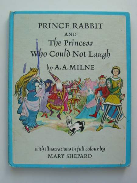 Photo of PRINCE RABBIT AND THE PRINCESS WHO COULD NOT LAUGH written by Milne, A.A. illustrated by Shepard, Mary published by Edmund Ward (STOCK CODE: 443868)  for sale by Stella & Rose's Books