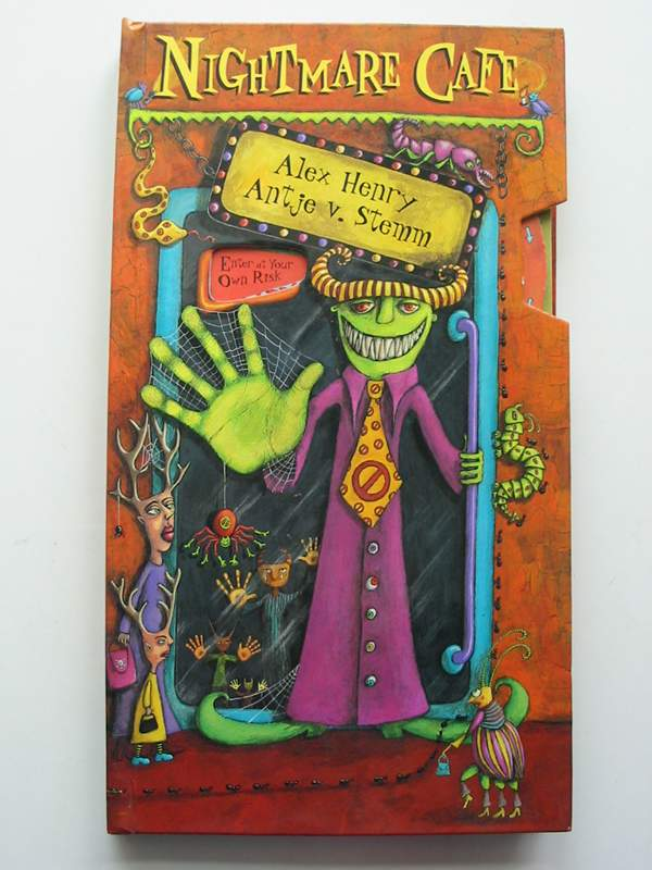 Photo of NIGHTMARE CAFE written by Henry, Alex illustrated by Stemm, Antje V. published by Envision Publishing, Tango Books (STOCK CODE: 447642)  for sale by Stella & Rose's Books