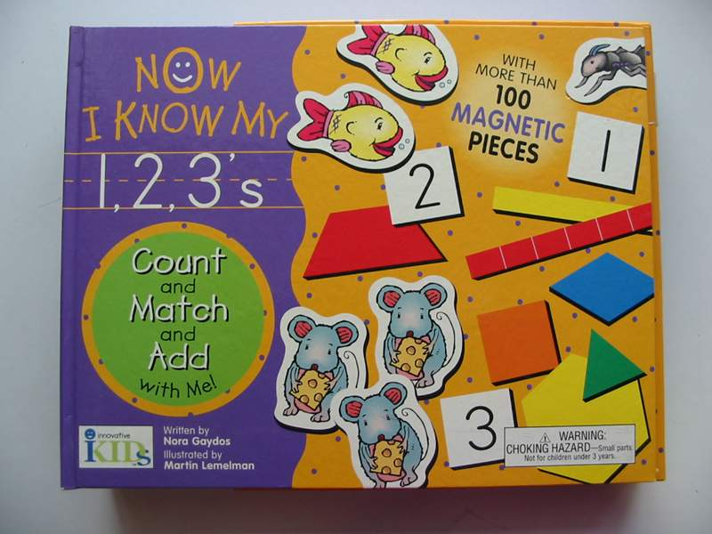 Photo of NOW I KNOW MY 1,2,3'S written by Gaydos, Nora illustrated by Lemelman, Martin published by Innovative Kids (STOCK CODE: 447661)  for sale by Stella & Rose's Books