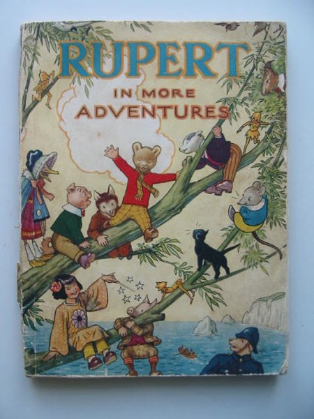 Photo of RUPERT ANNUAL 1944 - RUPERT IN MORE ADVENTURES written by Bestall, Alfred illustrated by Bestall, Alfred published by Daily Express (STOCK CODE: 487272)  for sale by Stella & Rose's Books