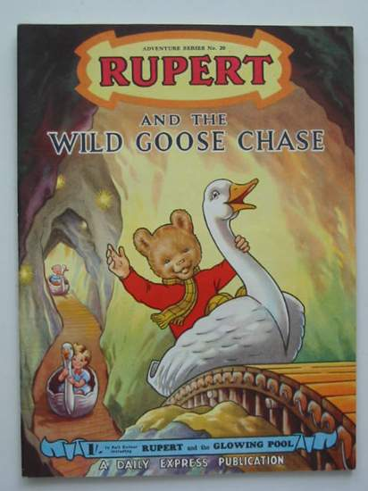 Photo of RUPERT ADVENTURE SERIES No. 20 - RUPERT AND THE WILD GOOSE CHASE written by Bestall, Alfred illustrated by Bestall, Alfred published by Daily Express (STOCK CODE: 487331)  for sale by Stella & Rose's Books
