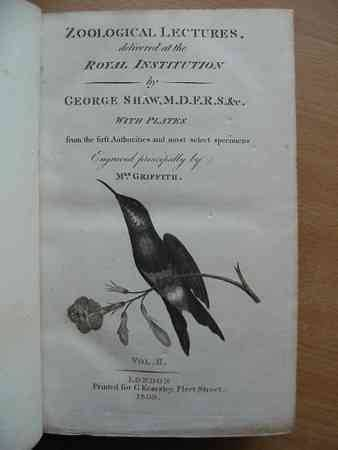 Photo of ZOOLOGICAL LECTURES written by Shaw, George published by George Kearsley (STOCK CODE: 554788)  for sale by Stella & Rose's Books
