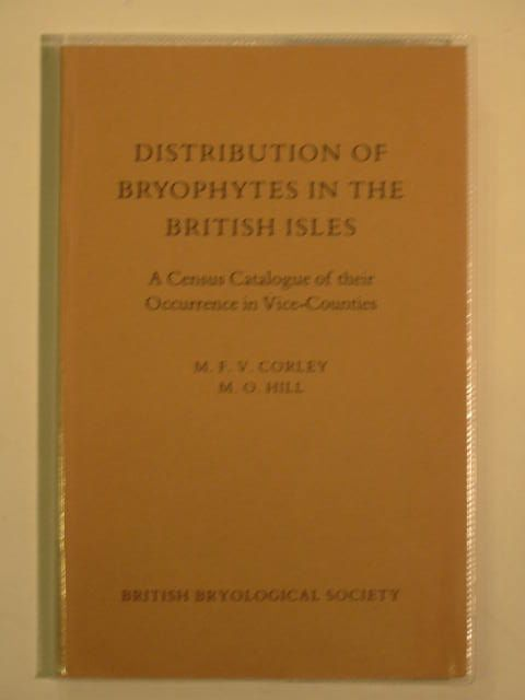 Photo of DISTRIBUTION OF BRYOPHYTES IN THE BRITISH ISLES written by Corley, M.F.V.<br />Hill, M.O. published by British Bryological Society (STOCK CODE: 557050)  for sale by Stella & Rose's Books