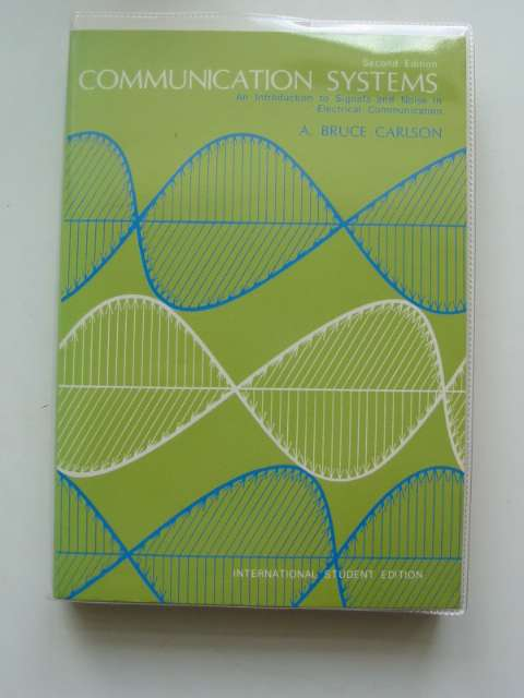 Photo of COMMUNICATION SYSTEMS written by Carlson, A. Bruce published by McGraw-Hill Book Company (STOCK CODE: 557120)  for sale by Stella & Rose's Books