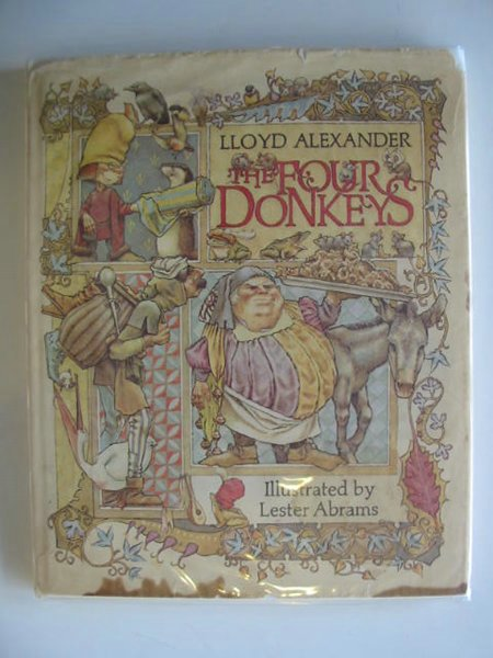 Photo of THE FOUR DONKEYS written by Alexander, Lloyd illustrated by Abrams, Lester published by World's Work Ltd. (STOCK CODE: 557330)  for sale by Stella & Rose's Books
