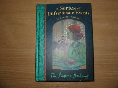 Photo of A SERIES OF UNFORTUNATE EVENTS: THE AUSTERE ACADEMY written by Snicket, Lemony illustrated by Helquist, Brett published by Egmont Books Ltd. (STOCK CODE: 560877)  for sale by Stella & Rose's Books