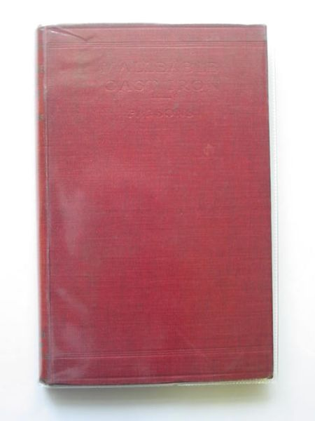 Photo of MALLEABLE CAST IRON written by Parsons, S. Jones published by Constable & Co. Ltd. (STOCK CODE: 560957)  for sale by Stella & Rose's Books