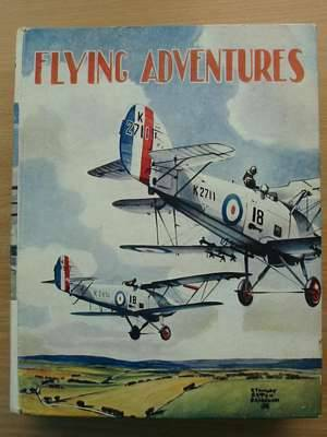 Photo of FLYING ADVENTURES written by Johns, W.E.<br />Rochester, George E.<br />et al,  illustrated by Leigh, Howard<br />Bradshaw, Stanley Orton<br />et al.,  published by John Hamilton (STOCK CODE: 561097)  for sale by Stella & Rose's Books