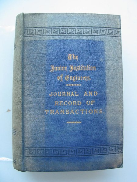 Photo of JOURNAL AND RECORD OF TRANSACTIONS VOLUME XVIII published by The Junior Institution Of Engineers (STOCK CODE: 561414)  for sale by Stella & Rose's Books