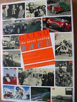 Photo of GATSO THE NEVER ENDING RACE written by Allen, Michael<br />Gatsonides, Maurice<br />Wiedenhoff, Rob<br />Philippa, Piet published by Gatsometer (STOCK CODE: 561922)  for sale by Stella & Rose's Books