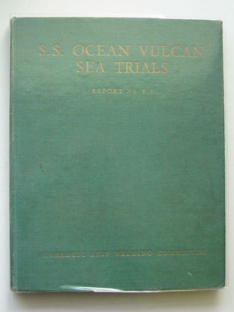 Photo of S.S. OCEAN VULCAN SEA TRIALS published by HMSO (STOCK CODE: 563818)  for sale by Stella & Rose's Books