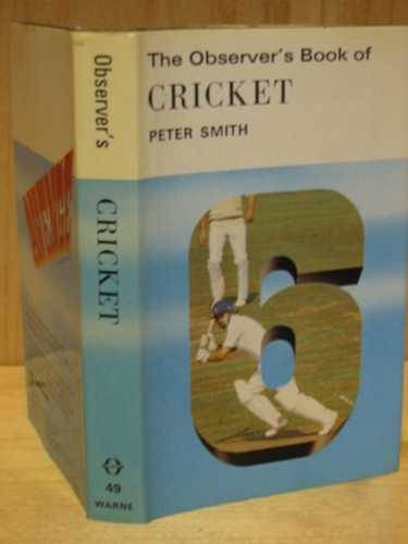 Photo of THE OBSERVER'S BOOK OF CRICKET (CYANAMID WRAPPER) written by Smith, Peter published by Frederick Warne & Co Ltd. (STOCK CODE: 567253)  for sale by Stella & Rose's Books