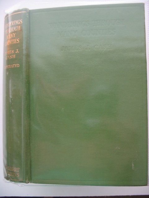 Photo of WANDERINGS THROUGH MANY COUNTIES written by Cash, James J. published by Herbert Jenkins Limited (STOCK CODE: 570206)  for sale by Stella & Rose's Books